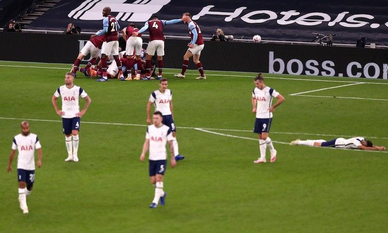 Tottenham hòa cay đắng West Ham 3-3