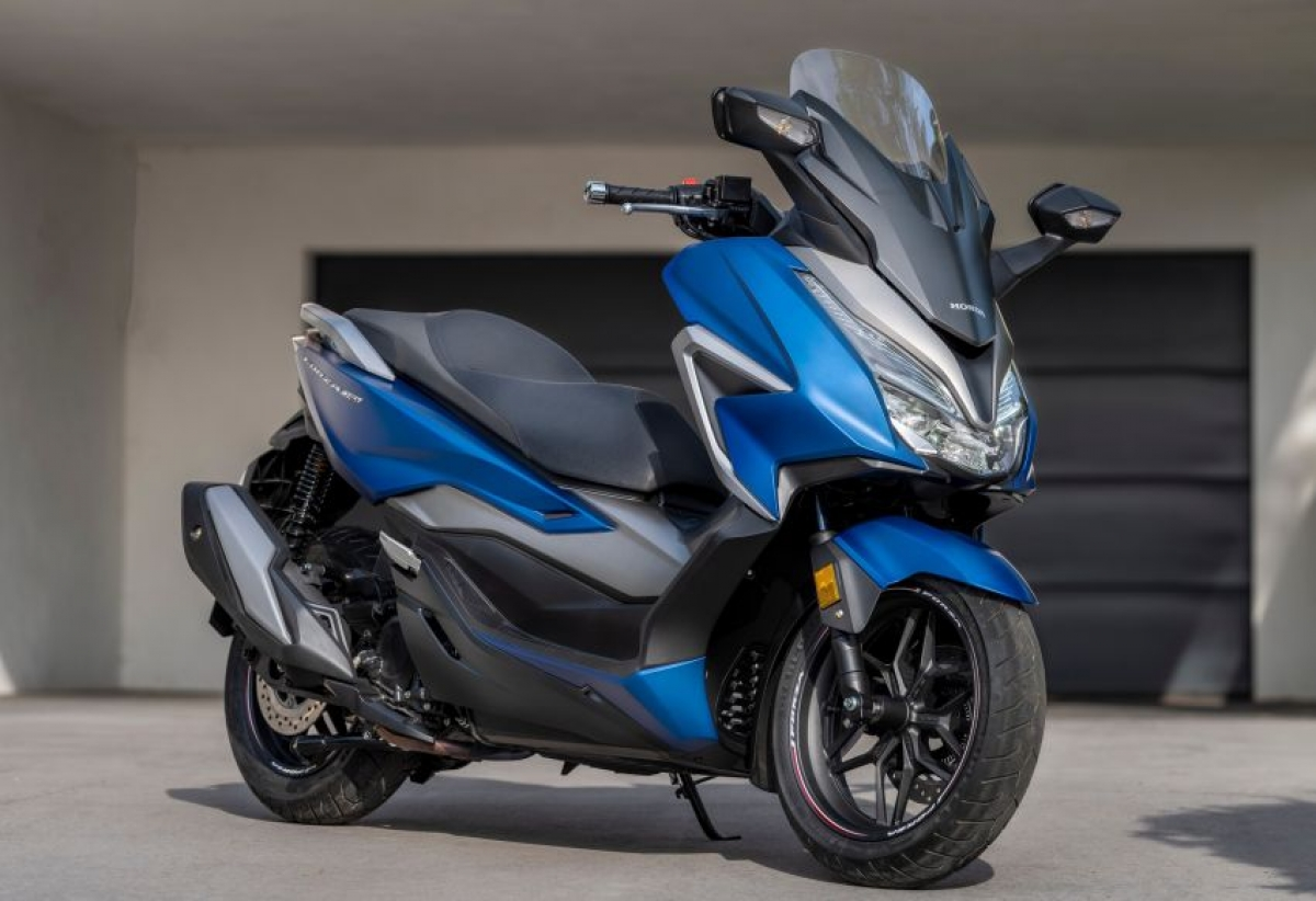 Honda Forza 350 và 125 2021 chính thức lộ diện
