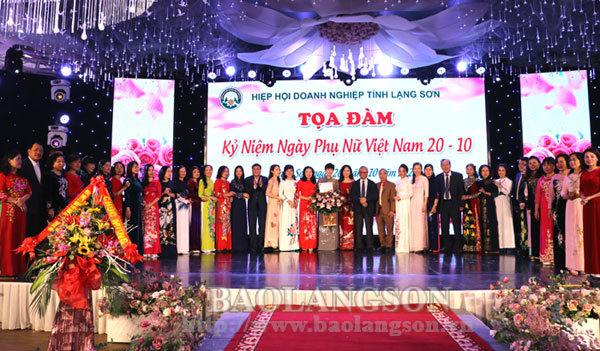 Hiệp hội Doanh nghiệp tỉnh tọa đàm kỷ niệm ngày Phụ nữ Việt Nam 20/10
