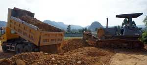 Thi công dự án khu tái định cư và dân cư Nam Nguyễn Đình Chiểu: Chậm tiến độ do vướng mặt bằng