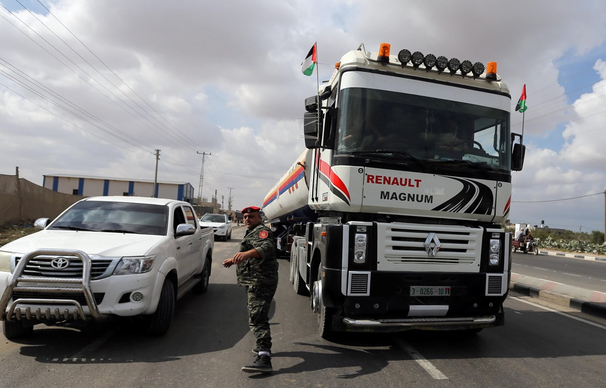 Qatar cam kết tiếp tục hỗ trợ tài chính cho Dải Gaza đến hết năm 2021
