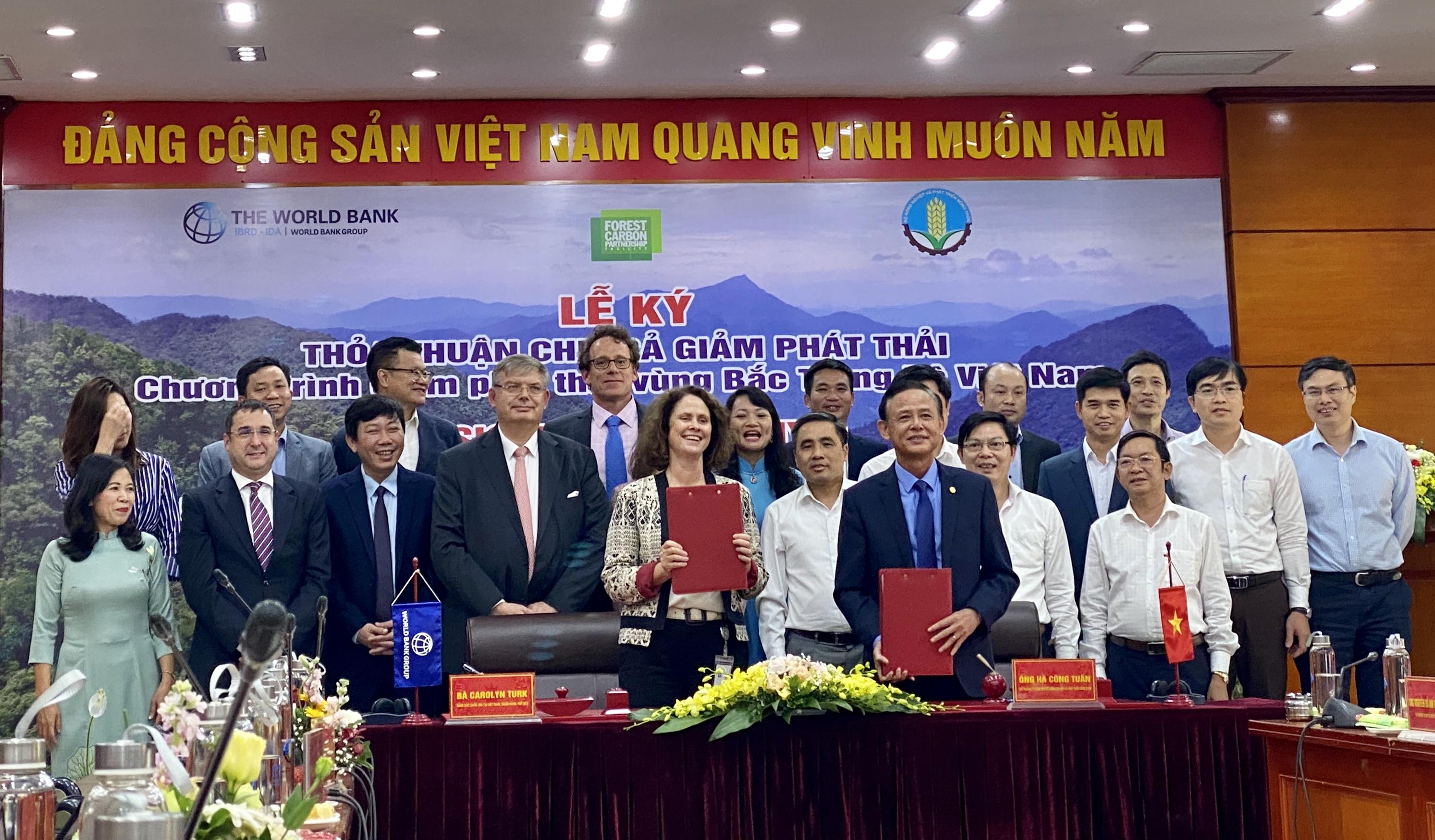 Việt Nam thu ngay 1.200 tỷ đồng từ giảm phát thải