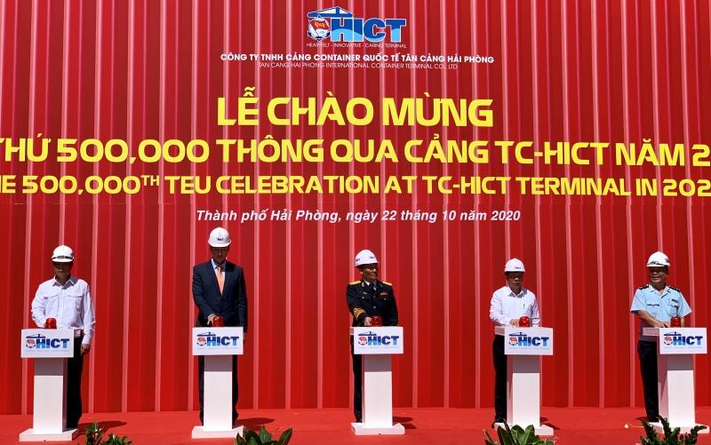 500 nghìn container qua Tân cảng Hải Phòng