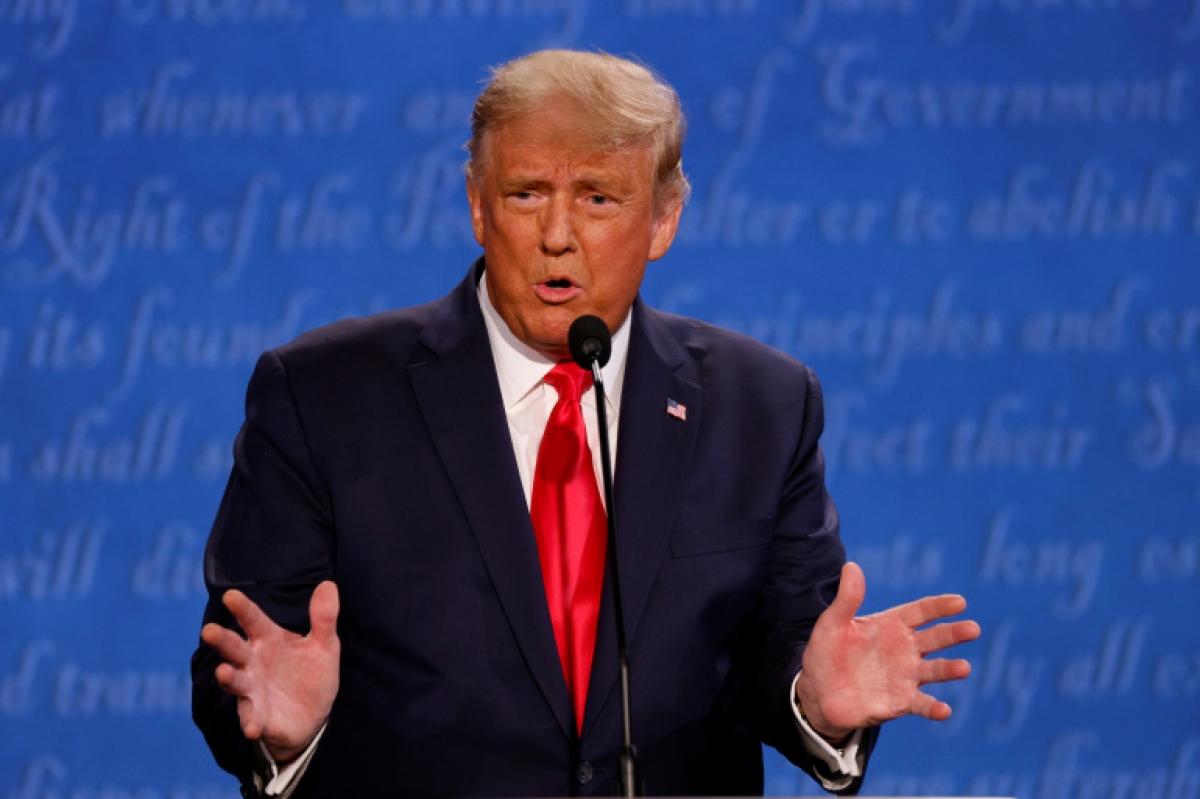 Tổng thống Trump hài lòng với buổi tranh luận của mình