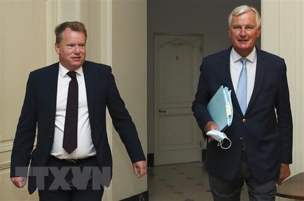 Anh khẳng định hướng tới việc sớm đạt thỏa thuận thương mại với EU