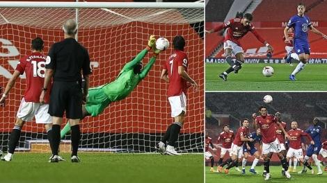 Toàn cảnh MU 0-0 Chelsea: Edouard Mendy che mờ Edinson Cavani