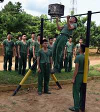 Trung đoàn 123: Sôi nổi phong trào rèn luyện thể lực, tập luyện thể thao