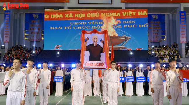 Lạng Sơn khai mạc hội khỏe Phù Đổng lần thứ X năm 2020