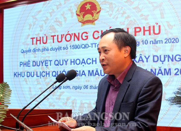 Công bố quy hoạch chung xây dựng Khu du lịch quốc gia Mẫu Sơn đến năm 2040