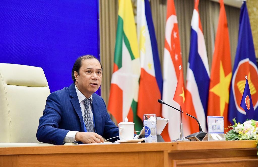 ASEAN chia sẻ quan ngại về làn sóng COVID-19 mới trong Cộng đồng