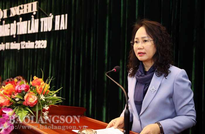 Hội nghị Ban Chấp hành Đảng bộ tỉnh lần thứ hai