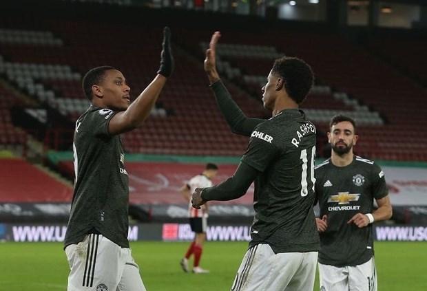 M.U thắng ngược trận thứ 6 liên tiếp trên sân khách ở Premier League