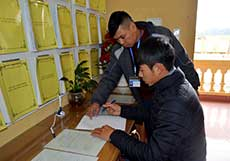 Yên Trạch thực hiện đồng bộ các giải pháp cải cách thủ tục hành chính
