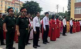 Thành phố Lạng Sơn: Nét đẹp văn hóa từ nghi thức chào cờ ngày đầu tháng