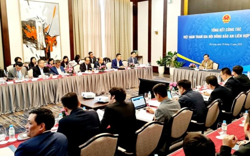 Tổng kết công tác HĐBA Liên hợp quốc năm 2020