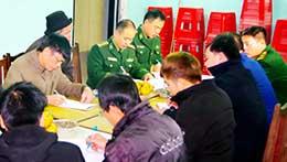 Đảng viên các đồn biên phòng: Phát huy vai trò tham dự sinh hoạt chi bộ thôn ở khu vực biên giới