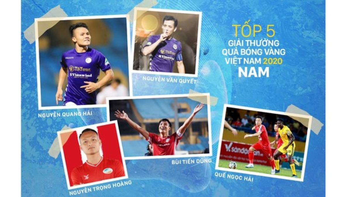 Quả bóng Vàng Việt Nam 2020: Vinh danh Văn Quyết?