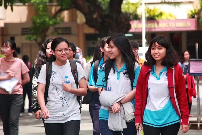 Năm 2021, Đại học Quốc gia TP Hồ Chí Minh tổ chức hai đợt thi đánh giá năng lực