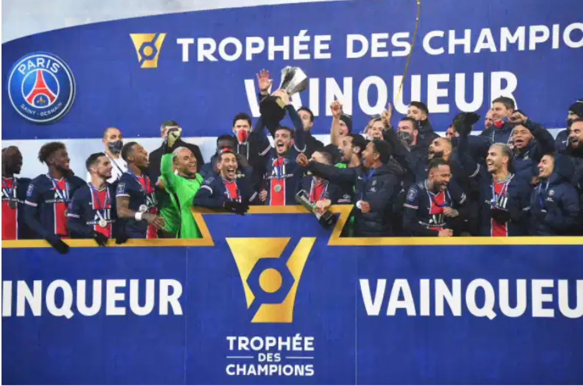 Giành Siêu Cúp Pháp lần thứ 8 liên tiếp, PSG có danh hiệu đầu tiên thời Pochettino