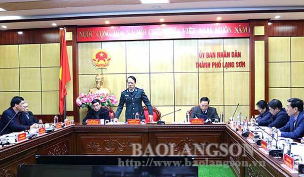 Thanh tra Chính phủ đối thoại với người dân thành phố Lạng Sơn