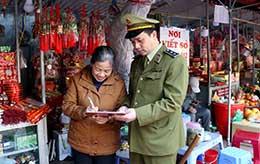 Thị trấn Đồng Đăng: Thực hiện tốt văn minh thương mại
