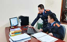 Ứng dụng công nghệ thông tin trong công tác kiểm sát