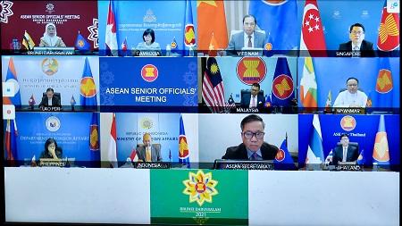 Việt Nam dự hoạt động ASEAN đầu tiên trong năm 2021