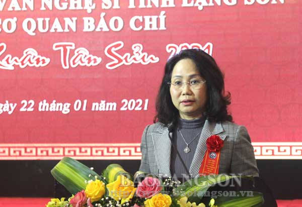Gặp mặt 250 đại biểu trí thức, văn nghệ sĩ và các cơ quan báo chí nhân dịp Xuân Tân Sửu 2021