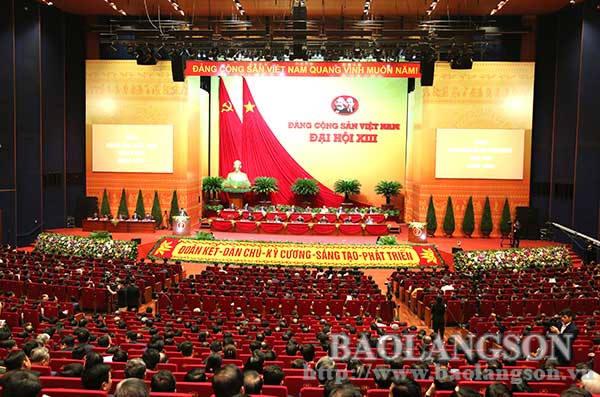 Ngày làm việc đầu tiên của Đại hội Đảng toàn quốc lần thứ XVIII