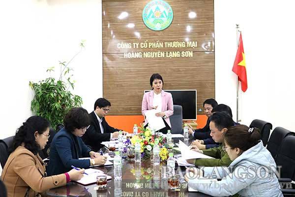 Lãnh đạo UBND tỉnh kiểm tra việc thực hiện chương trình bình ổn giá tại thành phố Lạng Sơn và huyện Cao Lộc