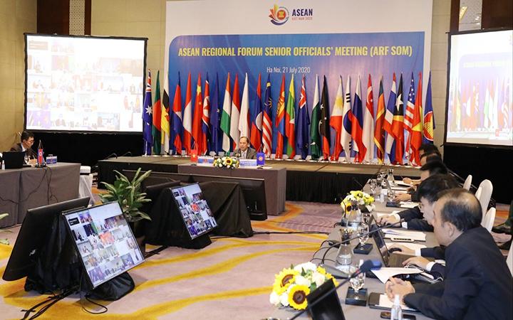 ASEAN khẳng định vai trò trung tâm trong một năm đầy biến động