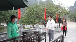 Ninh Bình 'siết' phòng dịch COVID-19, đảm bảo an toàn tại khu du lịch