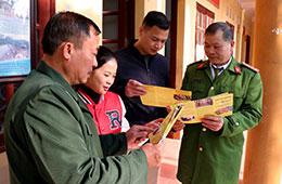 Cựu chiến binh huyện Văn Lãng: Phát huy vai trò trong giữ gìn trật tự an toàn giao thông