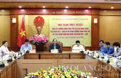 Tổng kết Chương trình tổng thể cải cách hành chính nhà nước giai đoạn 2011 - 2020