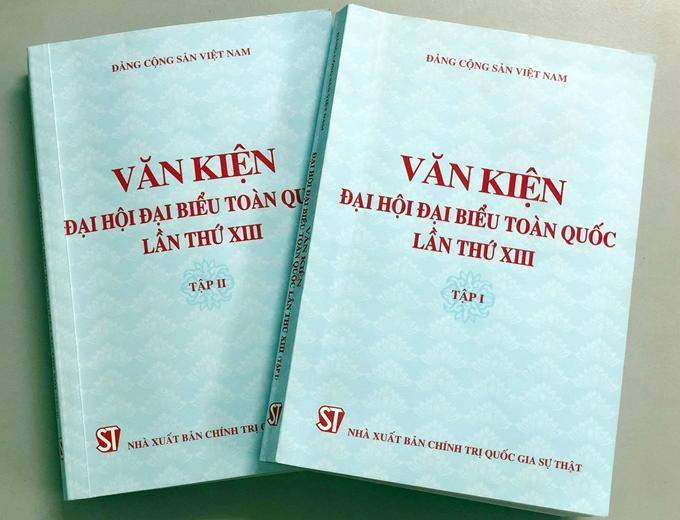 Ra mắt Bộ sách Văn kiện Đại hội đại biểu toàn quốc lần thứ XIII