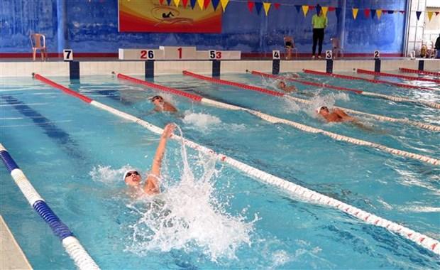 Hơn 250 vận động viên tham gia Giải bơi-lặn vô địch quốc gia bể 25m