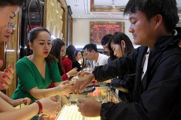 Đảo chiều, giá vàng SJC trong nước tăng 100.000 đồng mỗi lượng