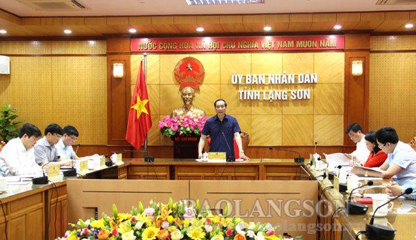 Hội đồng Giải báo chí tỉnh Lạng Sơn xem xét hoàn thiện văn bản hướng dẫn chấm tác phẩm dự thi