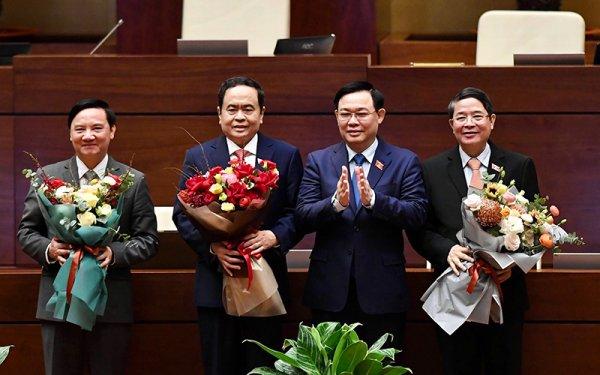 Các ủy viên Ủy ban Thường vụ Quốc hội khoá XIV (kiện toàn tại kỳ họp thứ 11)