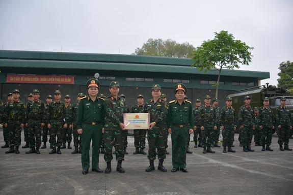 Đội tuyển Thợ quân khí tham dự Army Games 2021 tích cực luyện tập