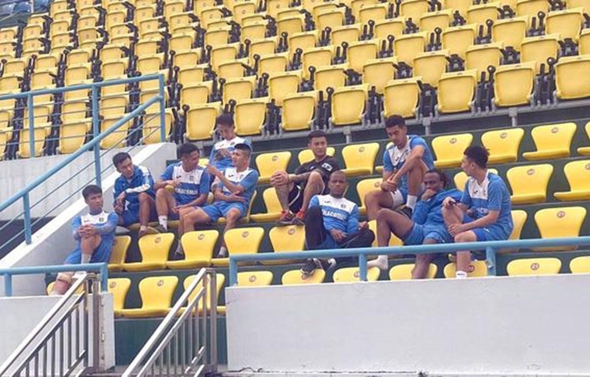 Cầu thủ Quảng Ninh tuyên bố dừng thi đấu vì bị nợ lương, thưởng