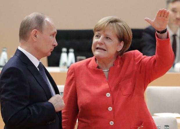Lãnh đạo Đức, Nga điện đàm về tình hình Đông Ukraine