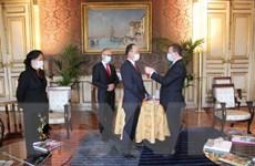 Đại sứ Việt Nam tại Pháp được trao tặng Huân chương Bắc đẩu Bội tinh