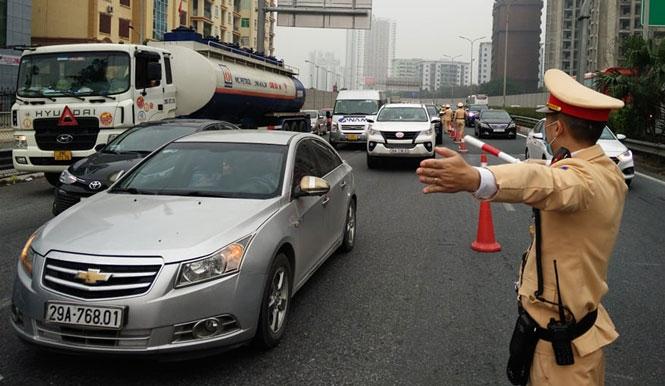 Bảo đảm trật tự, an toàn giao thông dịp lễ 30/4, 1/5 và bầu cử