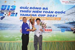 Thầy Park bất ngờ xuất hiện tại lễ công bố nhà tài trợ Giải bóng đá U.13 Yamaha Cup 2021