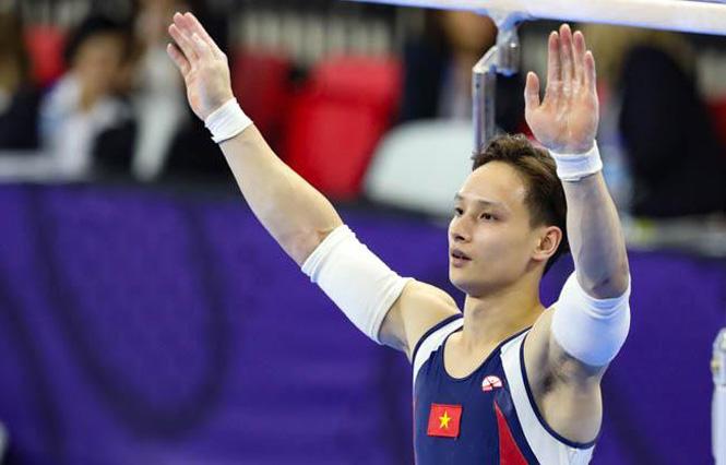 Vận động viên Đinh Phương Thành giành vé dự Olympic Tokyo 2020