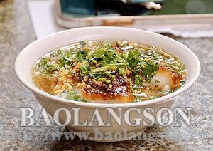 Cao sằng - một nét văn hóa ẩm thực Xứ Lạng