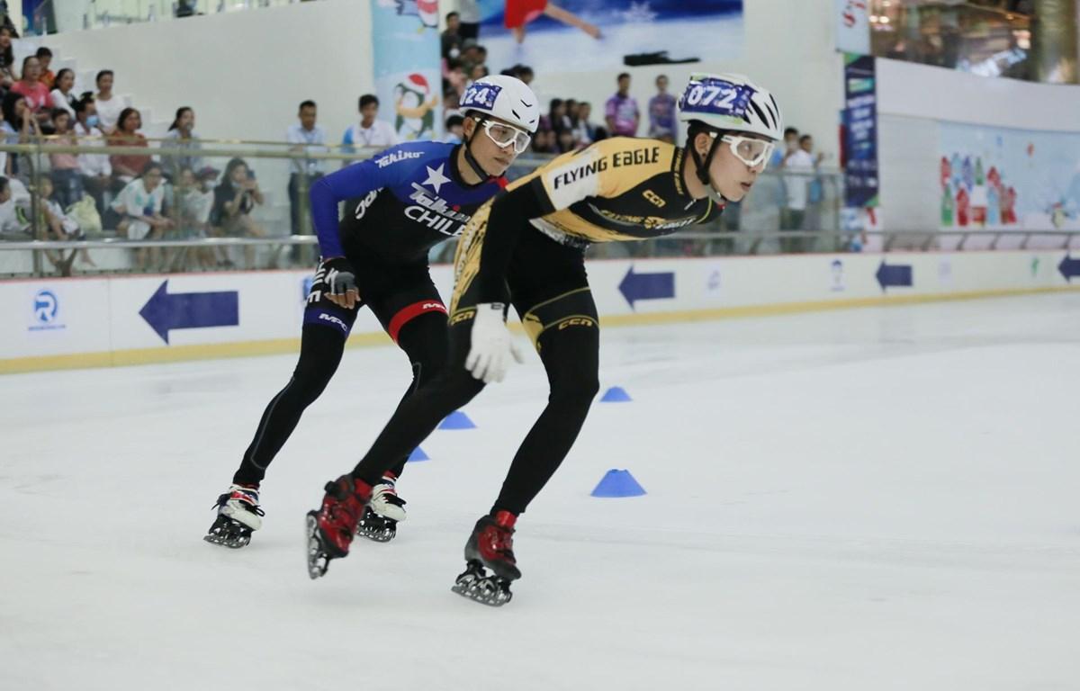 Trượt băng Việt Nam thúc đẩy tìm kiếm VĐV tài năng cho SEA Games