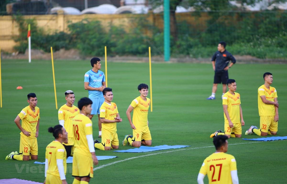 Tuyển Việt Nam chốt kế hoạch tập huấn trước Vòng loại World Cup 2022