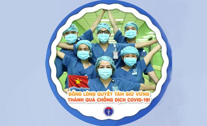 Bộ Y tế kêu gọi thay ảnh đại diện quyết tâm giữ vững thành quả chống dịch Covid-19